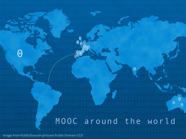 MOOC around the world